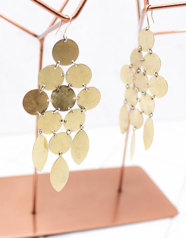 Chandelier Earring- Gold