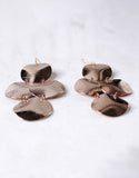 Rose Gold Luxury Small Disc Earrings - SWANK - Jewelry - 5