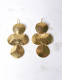 Gold Luxury Big Disc Earrings - SWANK - Jewelry - 3