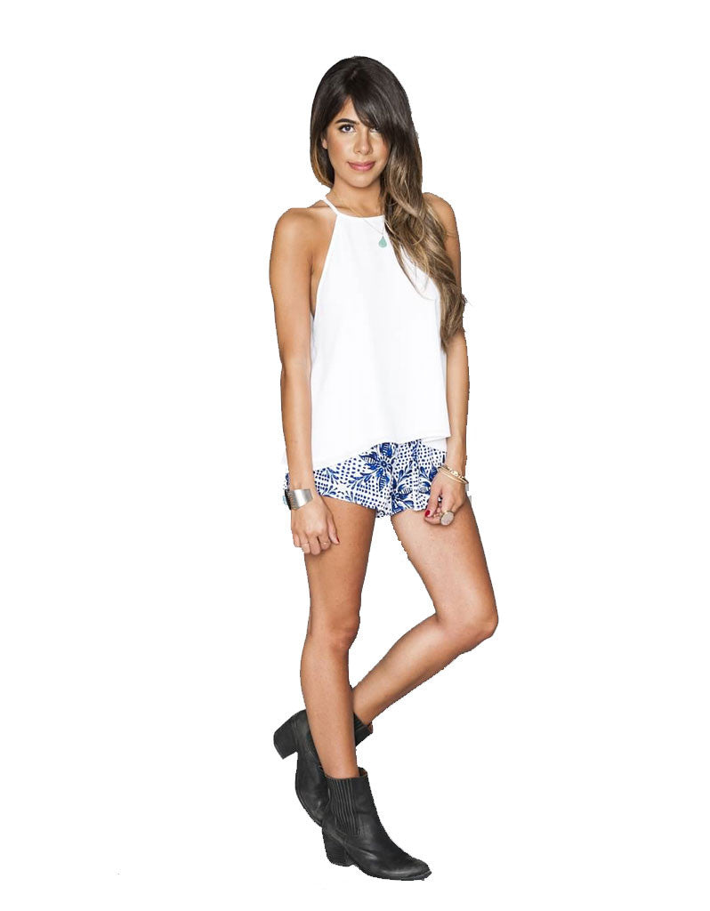 Show Me Your Mumu Cabana Short in Myko Niko Cloud - SWANK - Shorts - 1