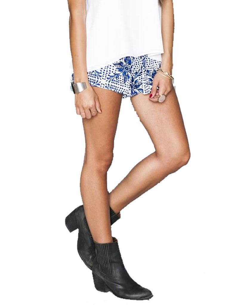 Show Me Your Mumu Cabana Short in Myko Niko Cloud - SWANK - Shorts - 3