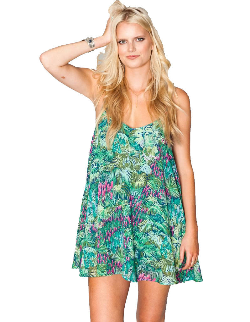 Show Me Your Mumu Circus Mini Dress in Rainforest Cafe - SWANK - Dresses - 2