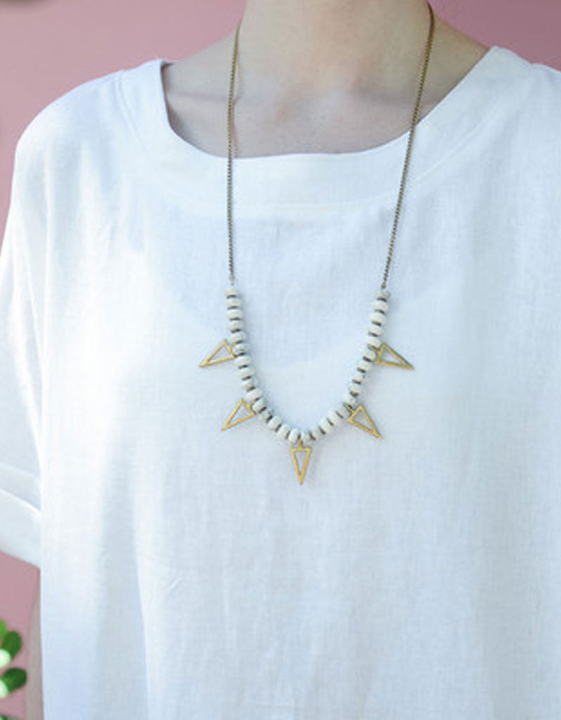 Seaworthy Cuate Necklace - SWANK - Jewelry - 2