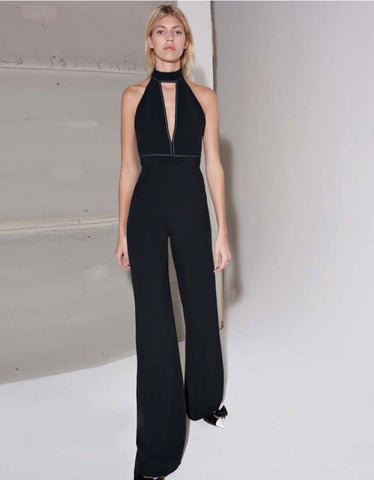 Alexis Dawn Jumpsuit in Black
