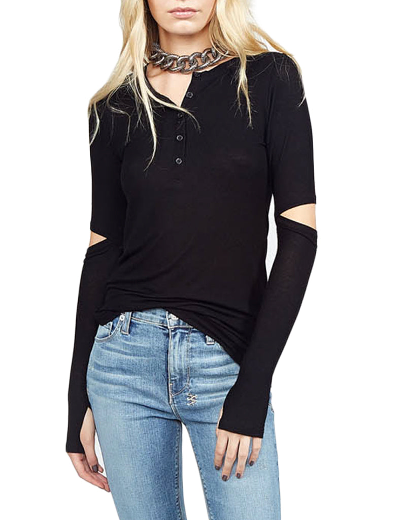 Michael Lauren Denmar Henley in Black
