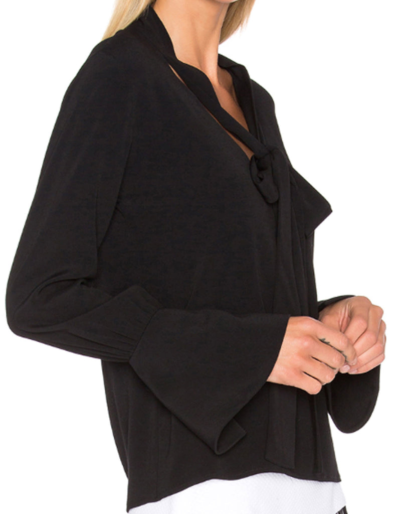 Alexis Diana Blouse in Black - SWANK - Tops - 3