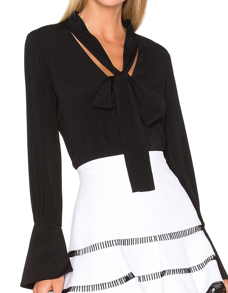 Alexis Diana Blouse in Black - SWANK - Tops - 2