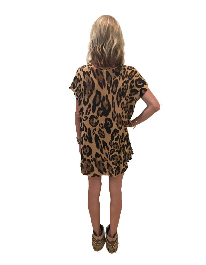 Show Me Your Mumu Carter Tunic in Leopard Knitten - SWANK - Tops - 6