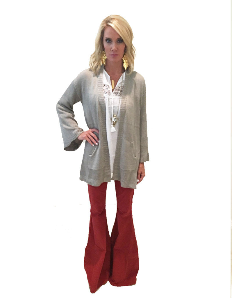 Show Me Your Mumu Easy Cardi in Ojai Bull - SWANK - Tops - 5