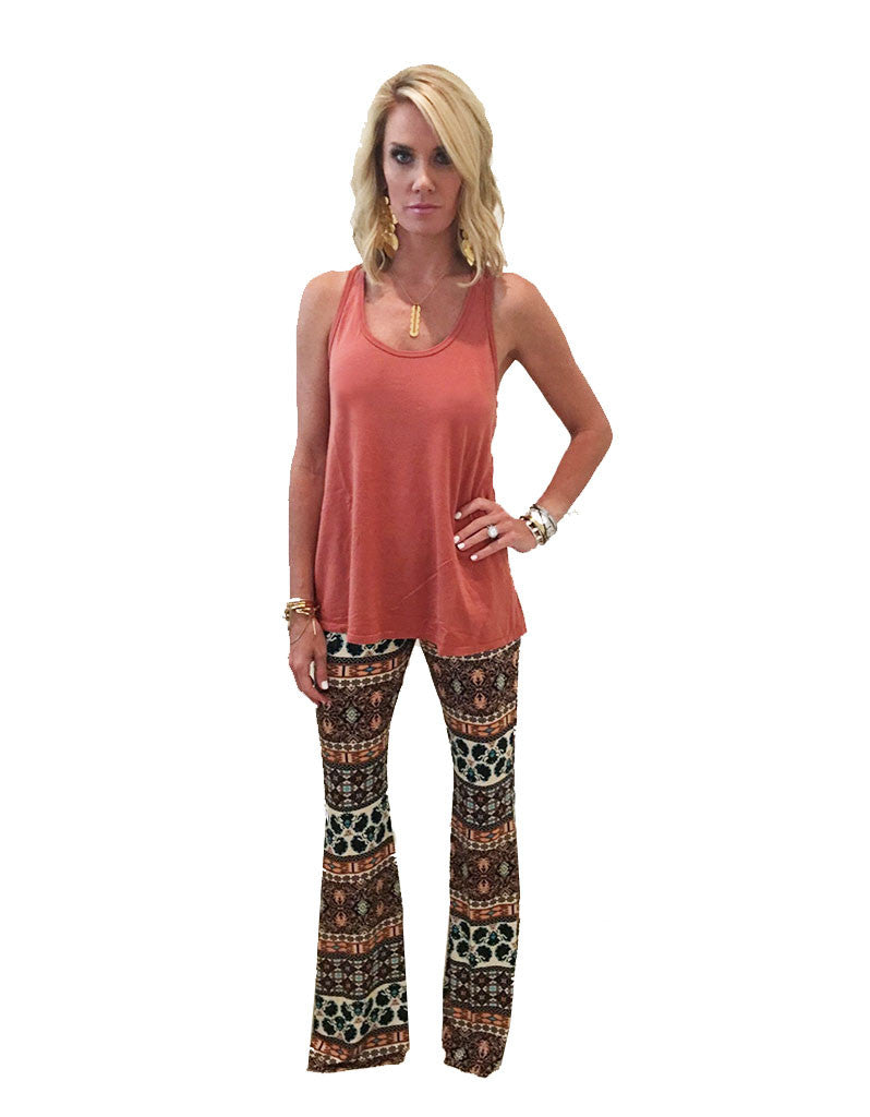 Michael Lauren Mars Bell Pant in Sequoia - SWANK - Pants - 2