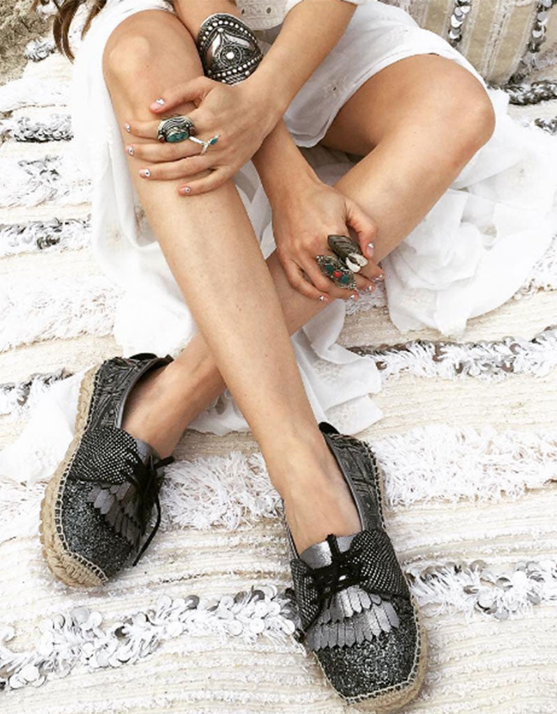 BOHO ESPADRILLES - IBIZA NIGHTS - SWANK - Shoes - 2