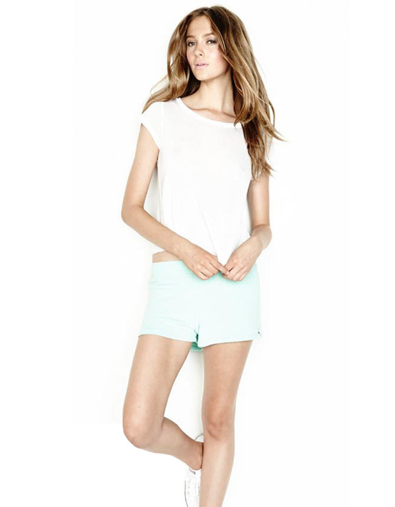 Michael Lauren Eddy Sweat Short in Light Mint - SWANK - Shorts - 2