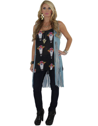 Show Me Your Mumu Estella Top in The Bull & The Beautiful