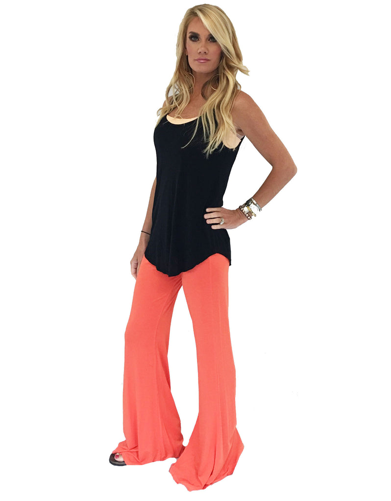 Michael Lauren Mars Bell Pant in Sunset - SWANK - Pants - 2