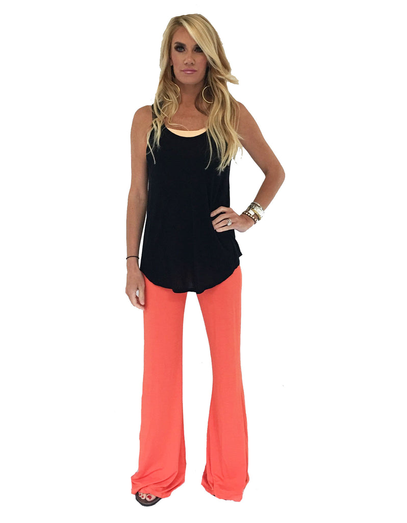 Michael Lauren Mars Bell Pant in Sunset - SWANK - Pants - 3