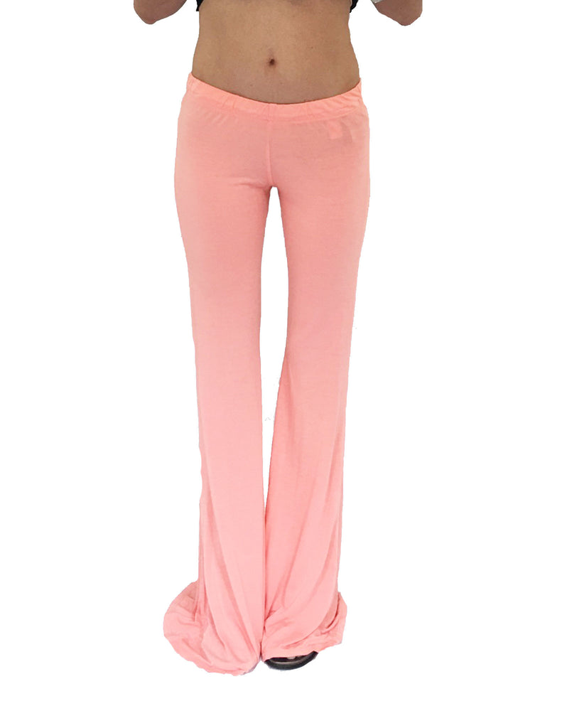 Michael Lauren Mars Bell Pant in Pink Salmon - SWANK - Pants - 2