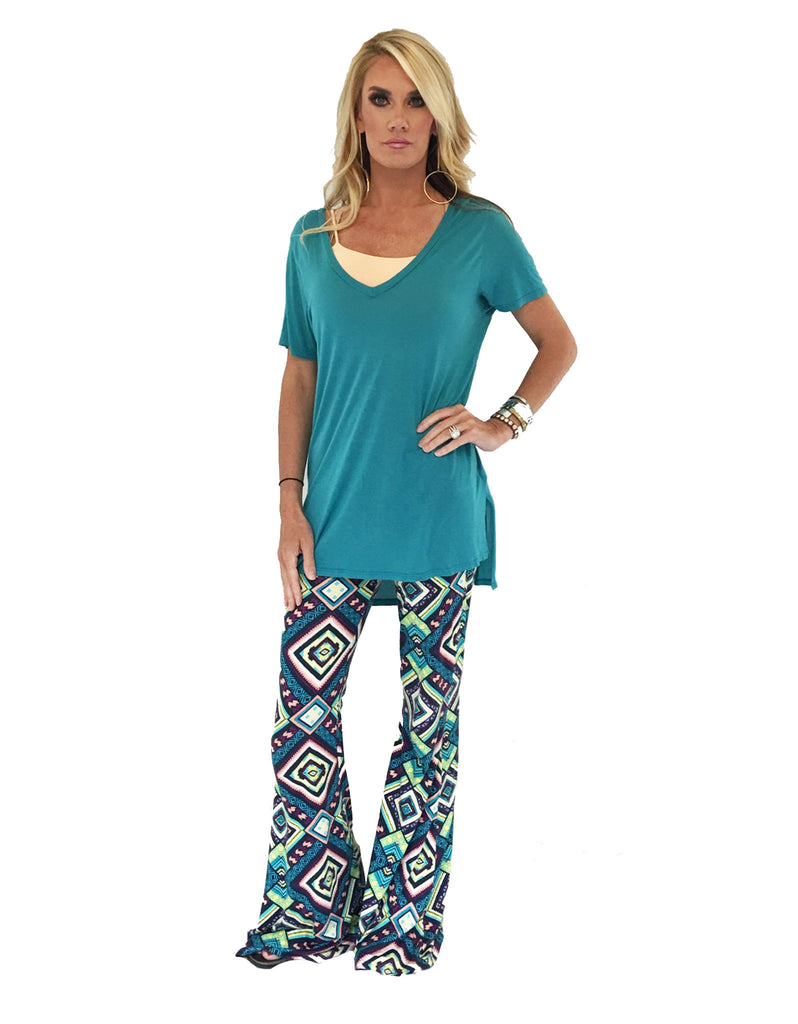 Michael Lauren Mars Bell Pant in Mirage - SWANK - Pants - 2