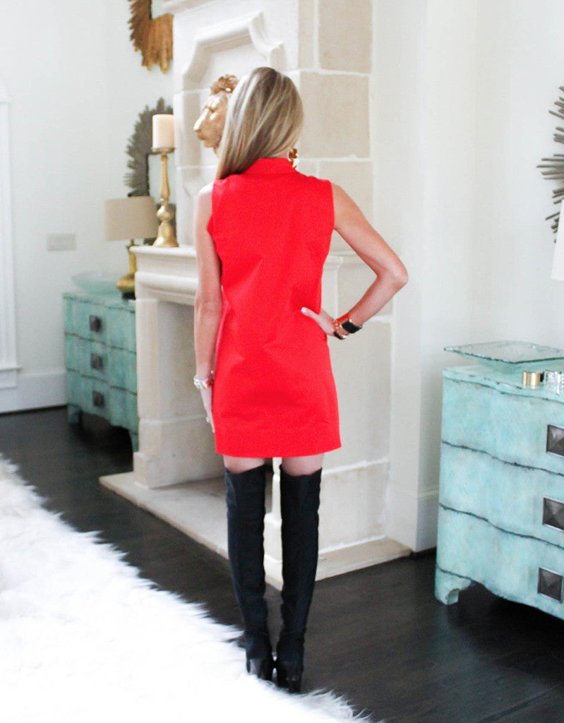 Alexis Mylo Dress in Red - SWANK - Dresses - 5