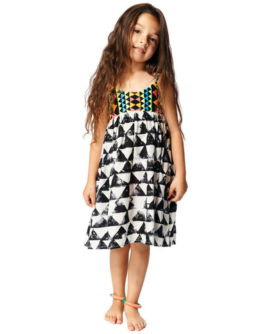 Mara Hoffman Kids Empire Dress in Alta Voile
