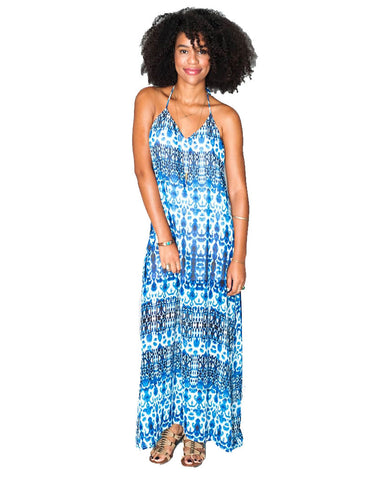 Show Me Your Mumu Eryln Maxi Dress in Fontainebleau
