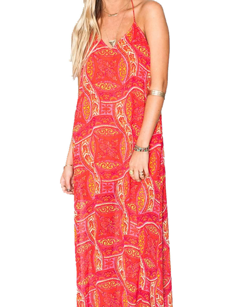 Show Me Your Mumu Eryln Maxi Dress in Pink Colada - SWANK - Dresses - 2
