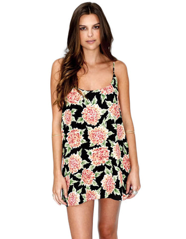 Show Me Your Mumu Estella Topslip in Flowerpuff Girls