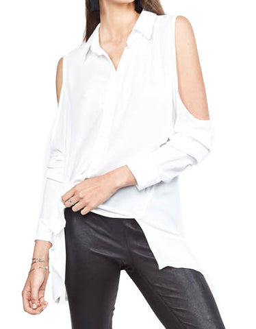 Michael Lauren Freddy Open Shoulder Blouse