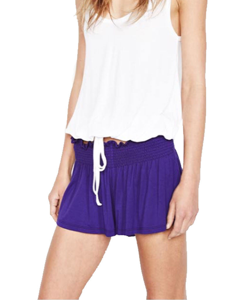 Michael Lauren Fox Smocked Short - SWANK - Shorts - 2