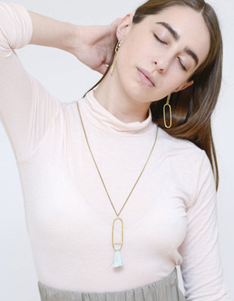 Seaworthy Fusion Necklace in Rose - SWANK - Jewelry - 2