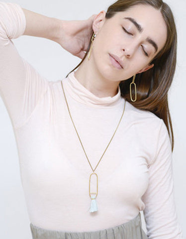 Seaworthy Fusion Necklace in Rose