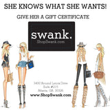Gift Certificate - SWANK - Gift