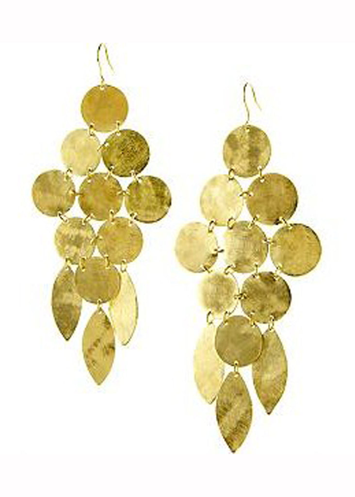 Chandelier Earrings in Gold - SWANK - Jewelry - 6