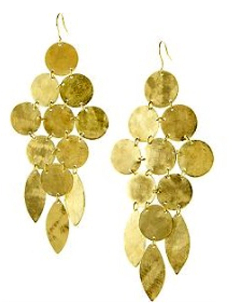 Chandelier Earrings in Gold - SWANK - Jewelry - 7