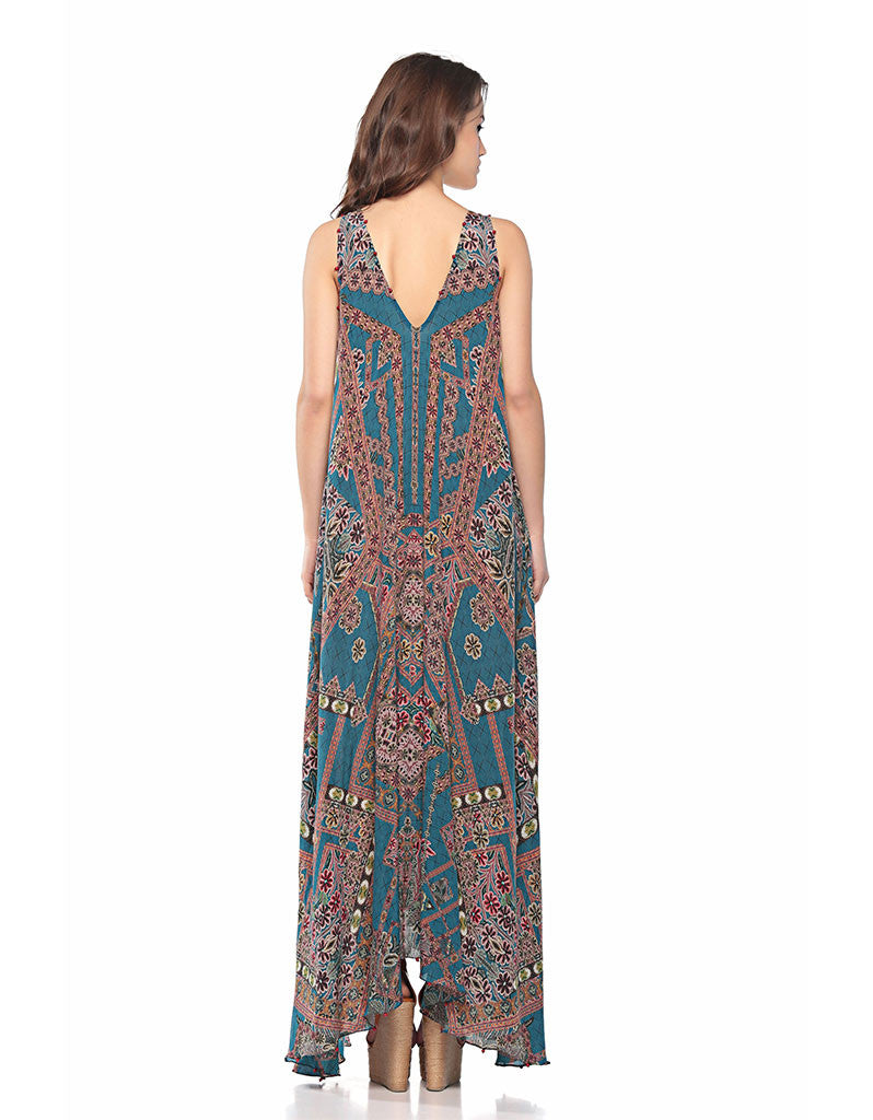 Hemant and Nandita The Wild Long Dress - SWANK - Dresses - 2