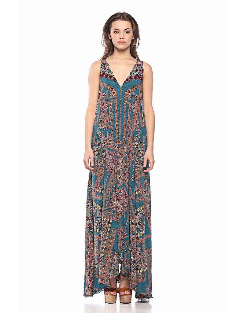 Hemant and Nandita The Wild Long Dress - SWANK - Dresses - 1
