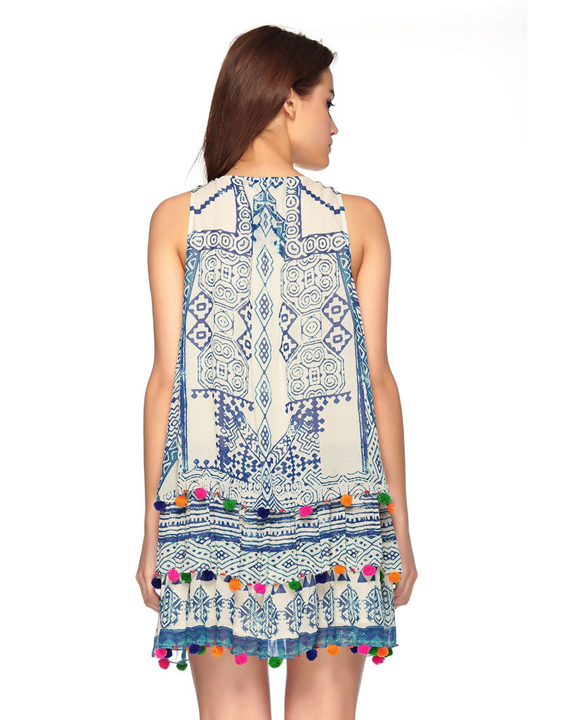 Hemant and Nandita Hmong Short Dress - SWANK - Dresses - 2