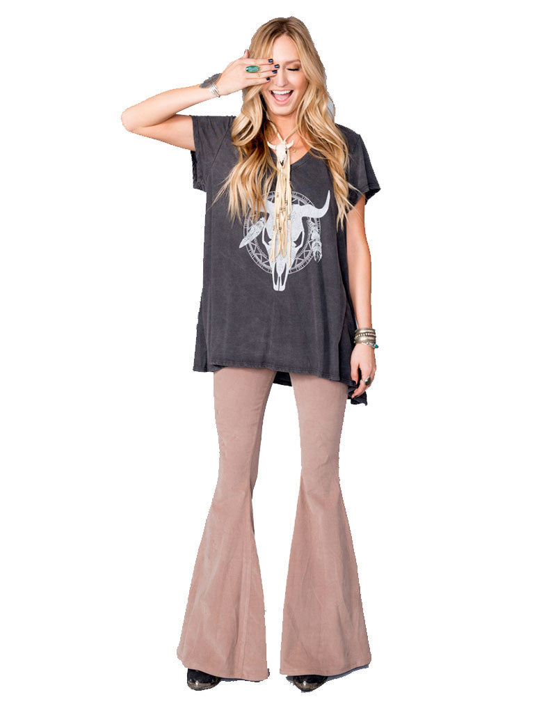 Show Me Your Mumu Hetland Tee in Shadow Bullhead - SWANK - Tops - 3