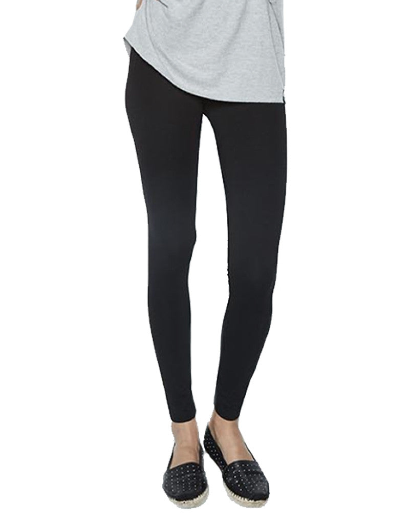 Michael Lauren Hugo Fitted Legging in Black - SWANK - Pants - 2