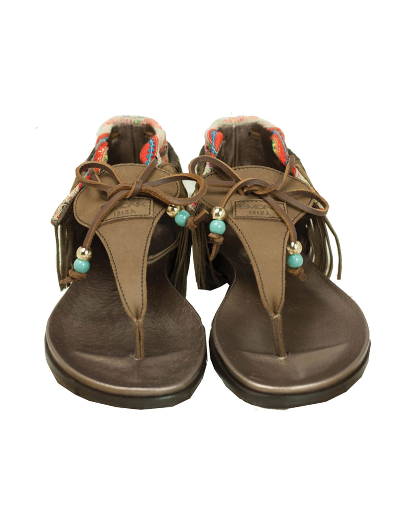 INDIE BOHO SANDALS - BROWN - SWANK - Shoes - 10