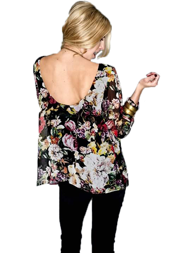 Show Me Your MuMu Jade Blouse in Madame Fleur - SWANK - Tops - 2