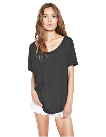 Michael Lauren Jan Scoop Neck Tee