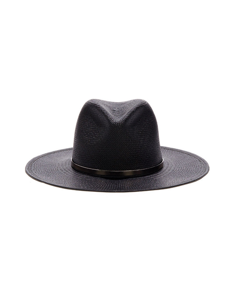 Janessa Leone Bryony Hat in Black