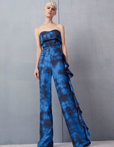 Alexis Jara Jumpsuit in Blue Dye