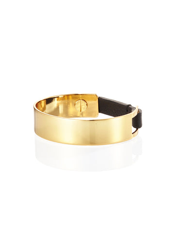 Jenny Bird Jane Cuff in High Polish Gold