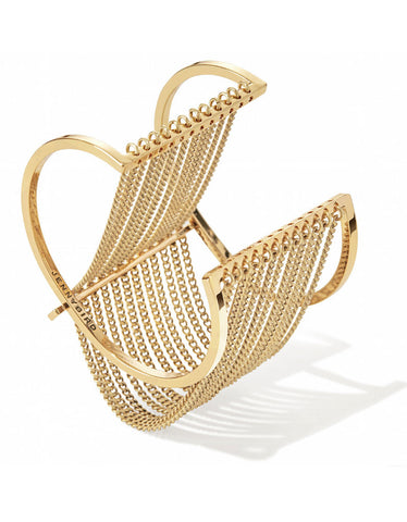 Jenny Bird Kundali Queen Bangle in Gold