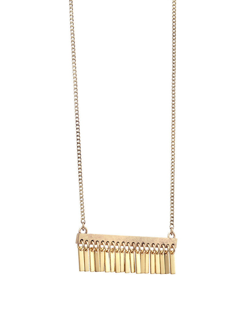 Jenny Bird Raya Pendant in Gold - SWANK - Jewelry