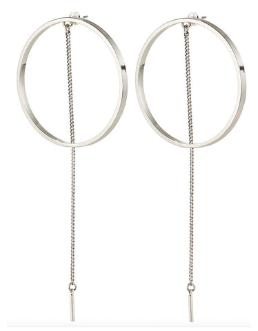 Jenny Bird Zenith Hoops in Gold/Silver