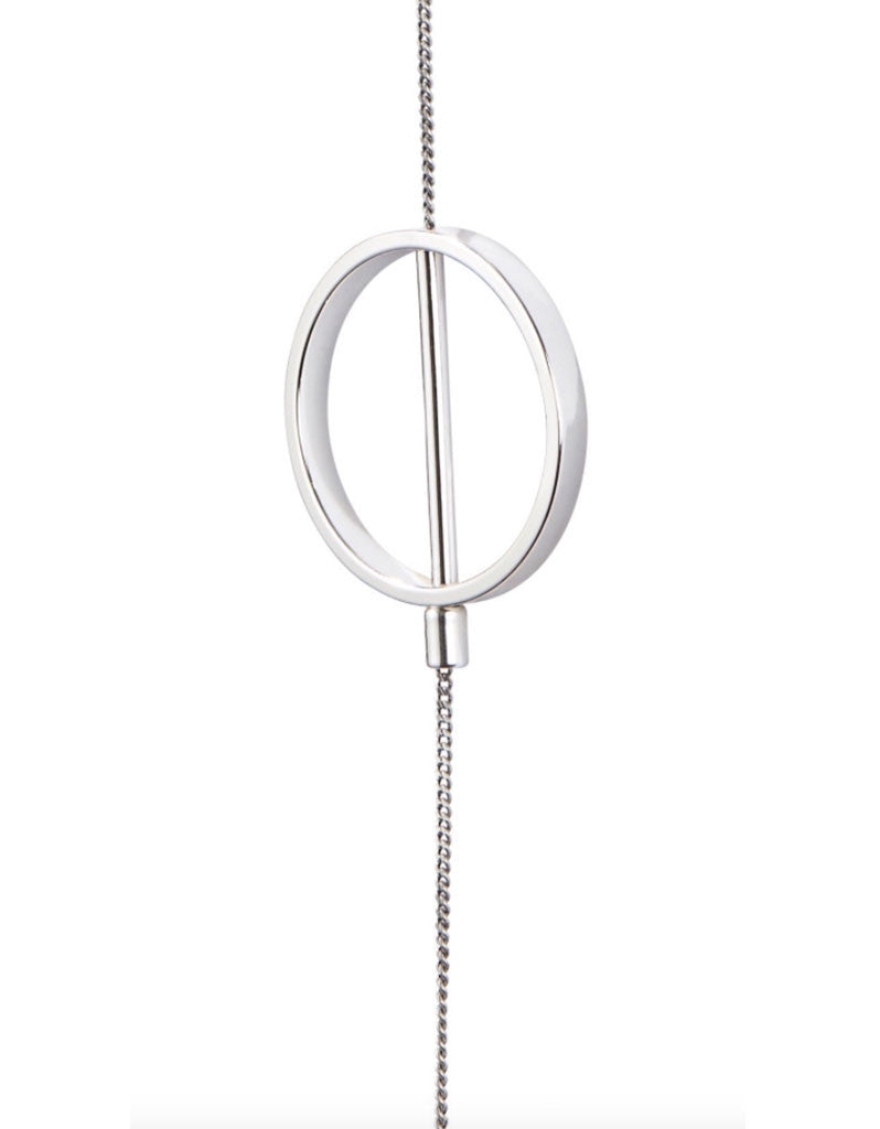 Jenny Bird Rhine Lariat Necklace in Silver - SWANK - Jewelry - 4