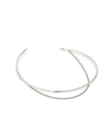 Jenny Bird Rill Choker in High Polish Silver