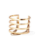 Jenny Bird Series Cuff in Gold - SWANK - Jewelry - 1
